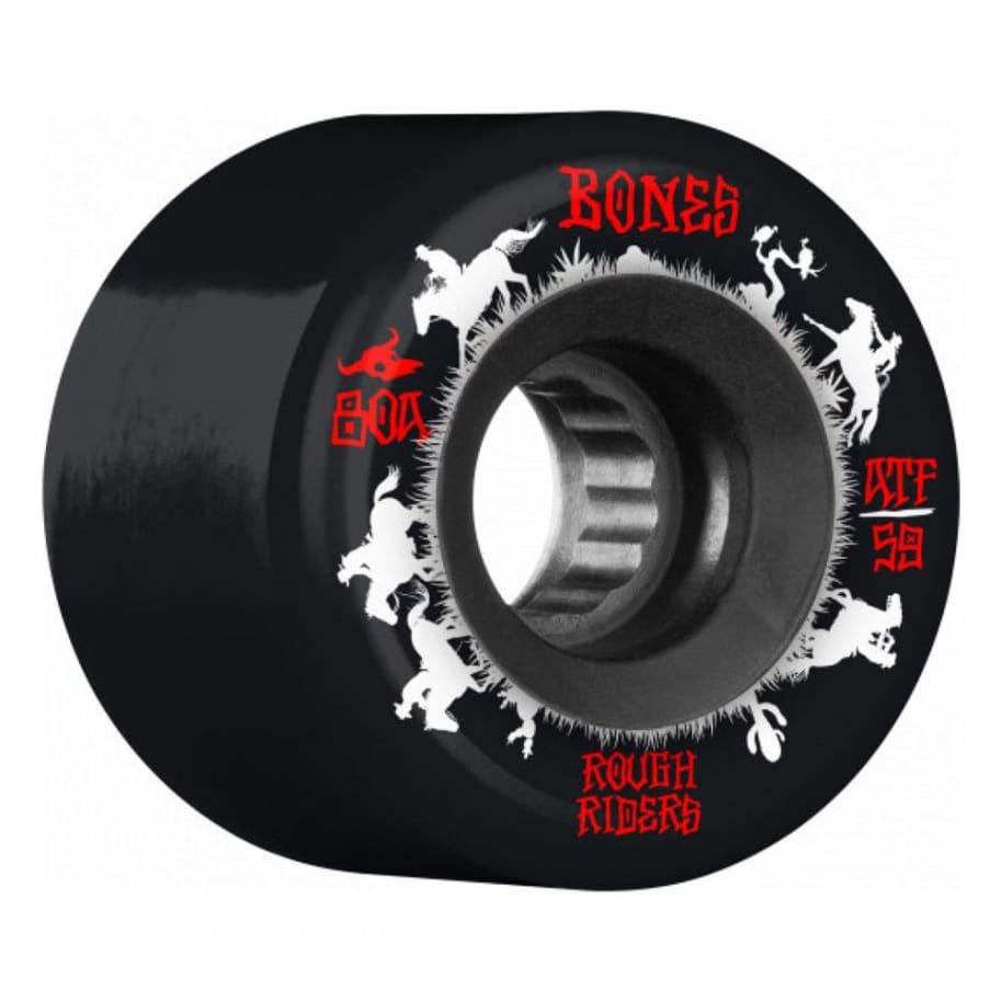 Bones ATF Rough Riders Wranglers Core Skateboard Wheels - 59mm   Wheels by BONES 1