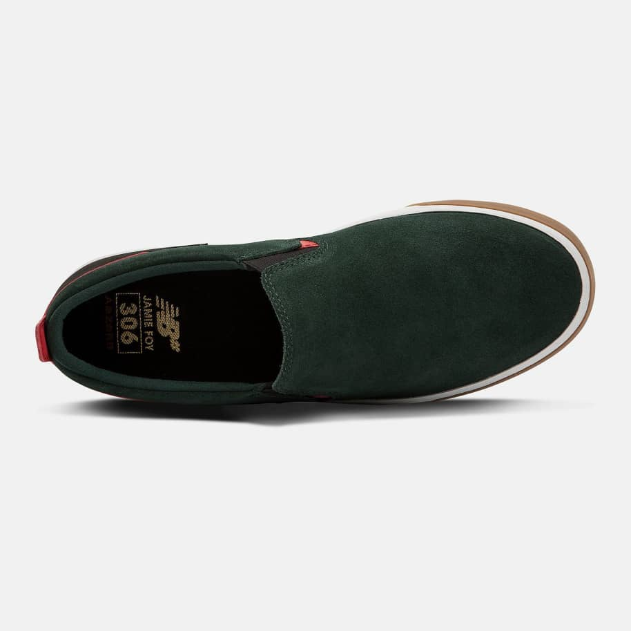 New Balance Numeric NM306LV1 Shoes - Green / Black | Shoes by New Balance 2