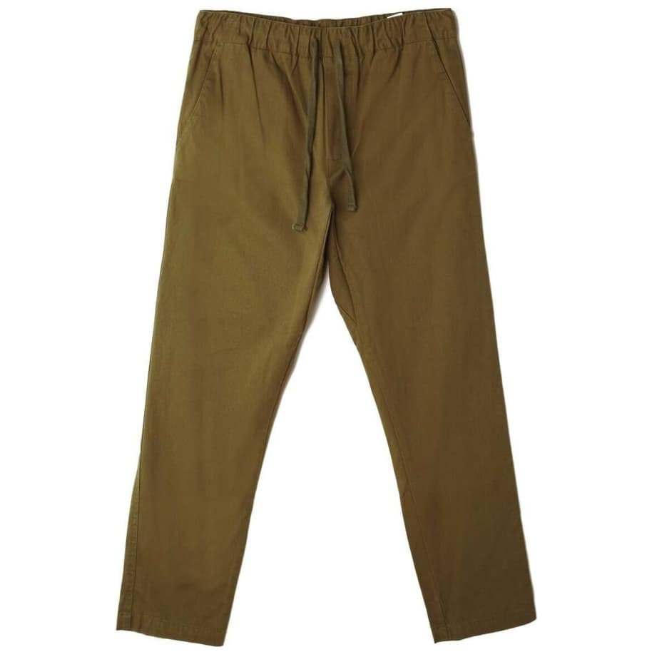 OBEY Ideals Organic Traveler Pant - Army | Trousers by OBEY Clothing 1