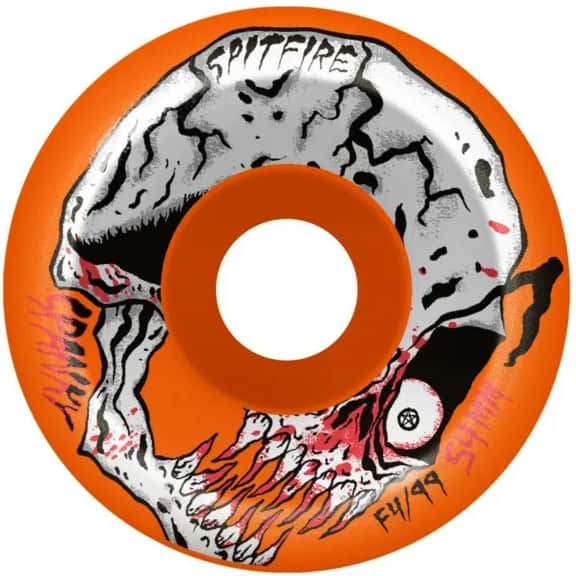 Spitfire F4 Spanky Neckface Conical Full 99A Wheels   Wheels by Spitfire Wheels 1