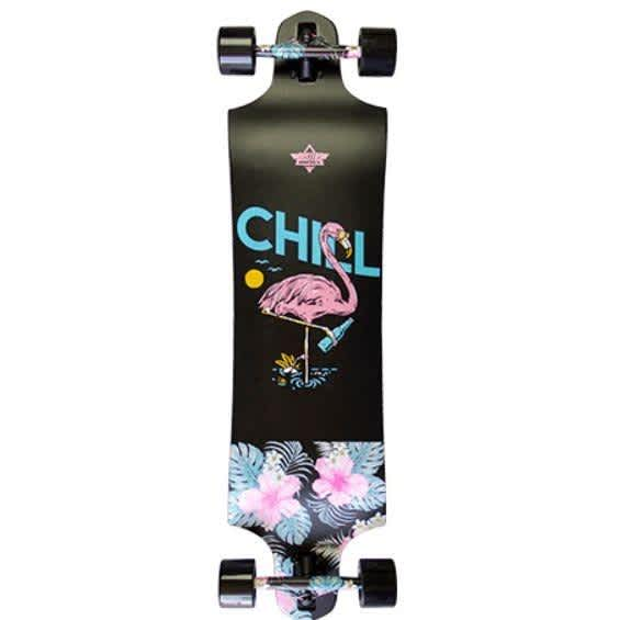 """Dusters Chill Longboard Complete (38"""")   Complete Skateboard by Dusters 1"""