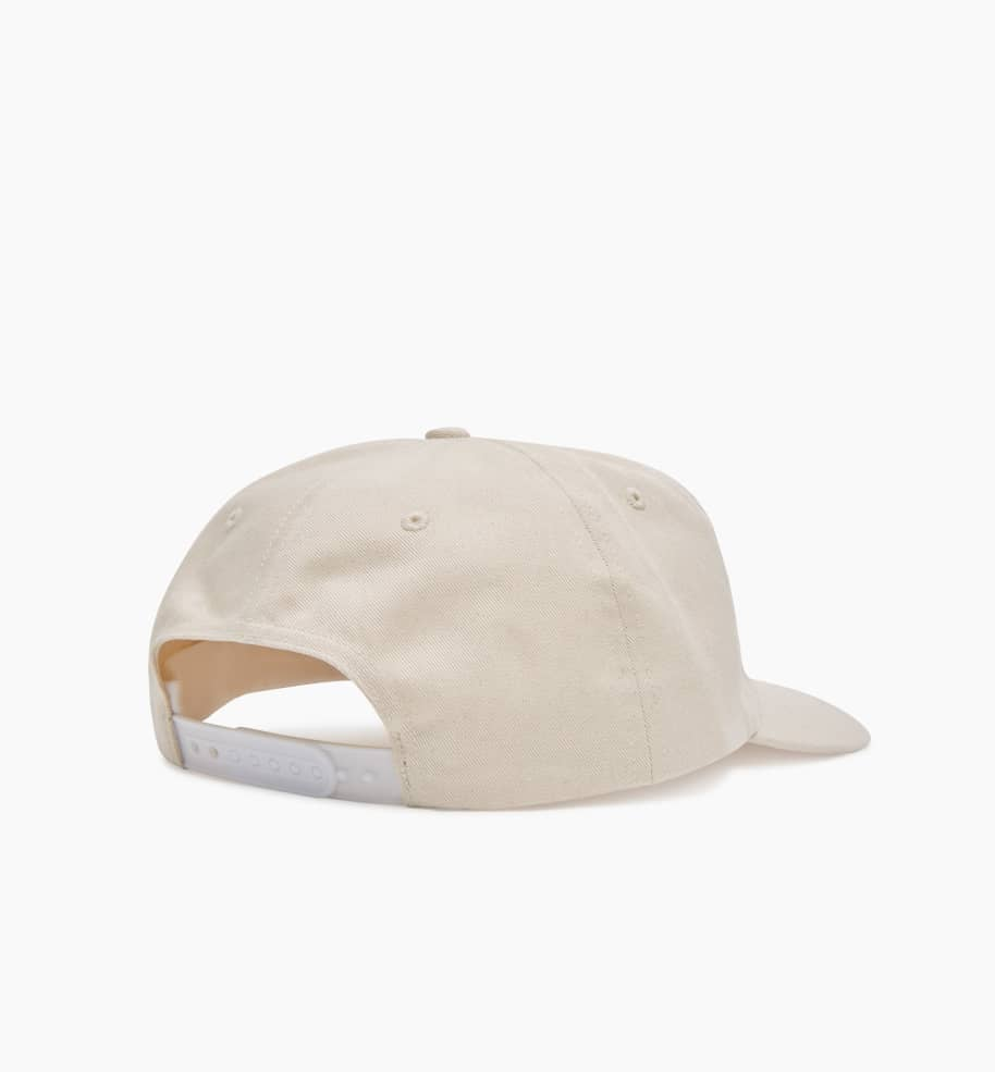 by Parra Snaked 6 Panel Hat - Off White | Panel Hat by by Parra 3