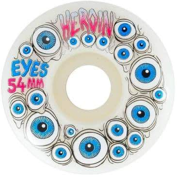 Heroin Eyes Wheels 54mm 101a | Wheels by Heroin Skateboards 1