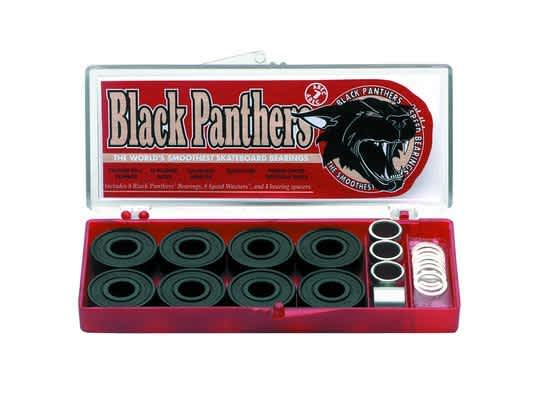 Shorty's Black Panthers Abec 7 Bearings | Bearings by Shorty's 1