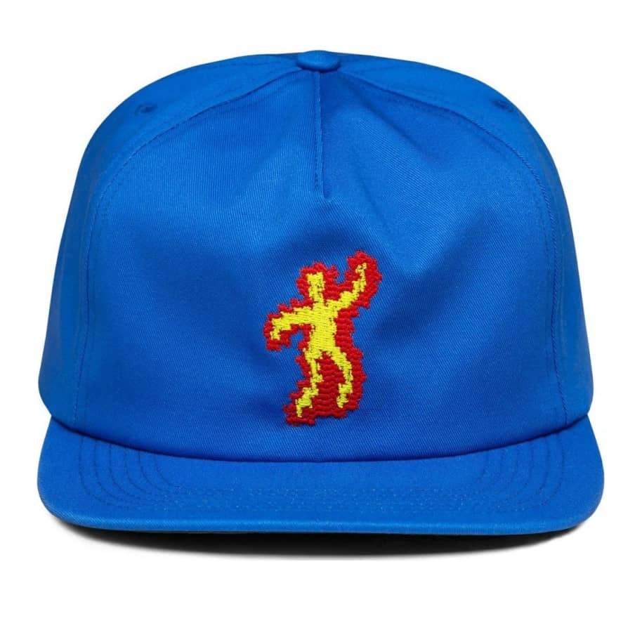 Call Me 917 Scorched Hat - Royal Blue | Hat by Call Me 917 1