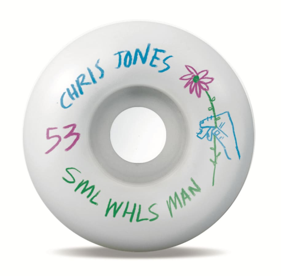 SML. Wheel Co. Chris Jones Pencil Pushers OG Wide 53mm 99a | Wheels by Sml Wheels 1