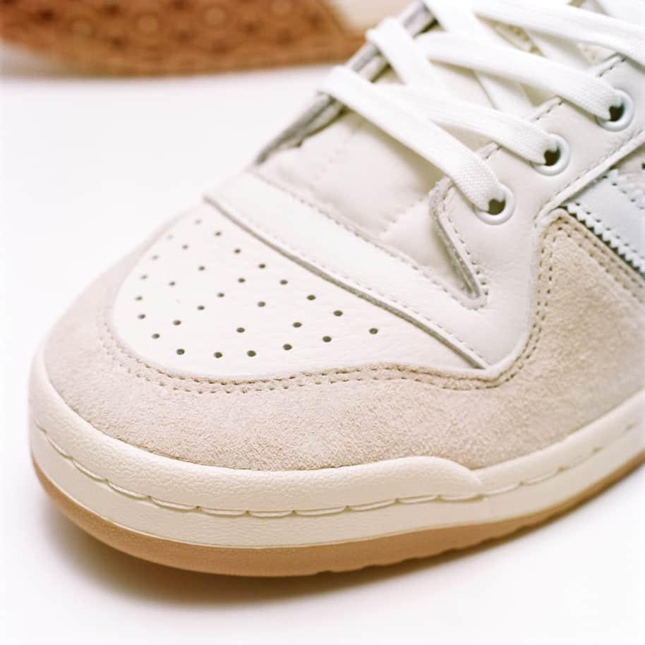 adidas Skateboarding Forum 84 Low ADV Shoes - Chalk White / Ftwr White / Cloud White | Shoes by adidas Skateboarding 12