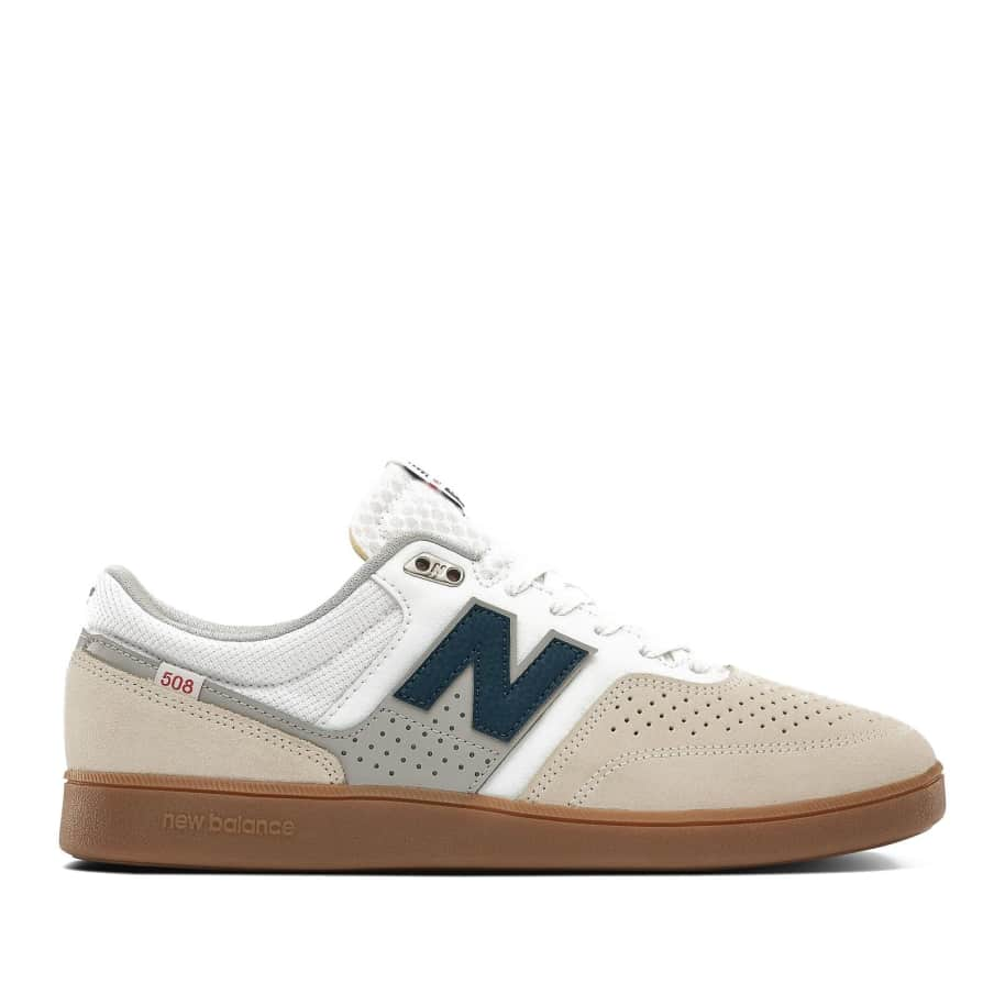 New Balance Numeric 508 Shoes - White / Blue | Shoes by New Balance 1