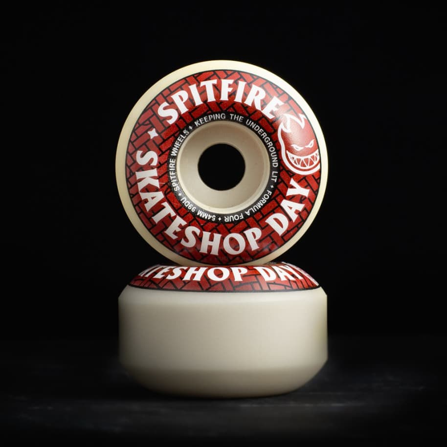 F4 99 Classics - Skate Shop Day 2020 - 54mm | Wheels by Spitfire Wheels 2