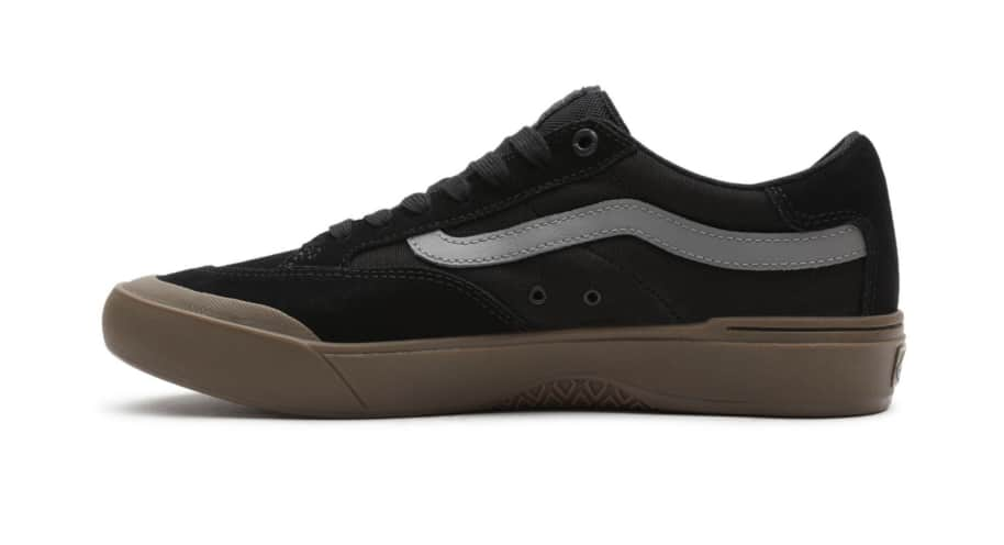 Vans Berle Pro Skate Shoes - Black / Dark Gum | Shoes by Vans 6
