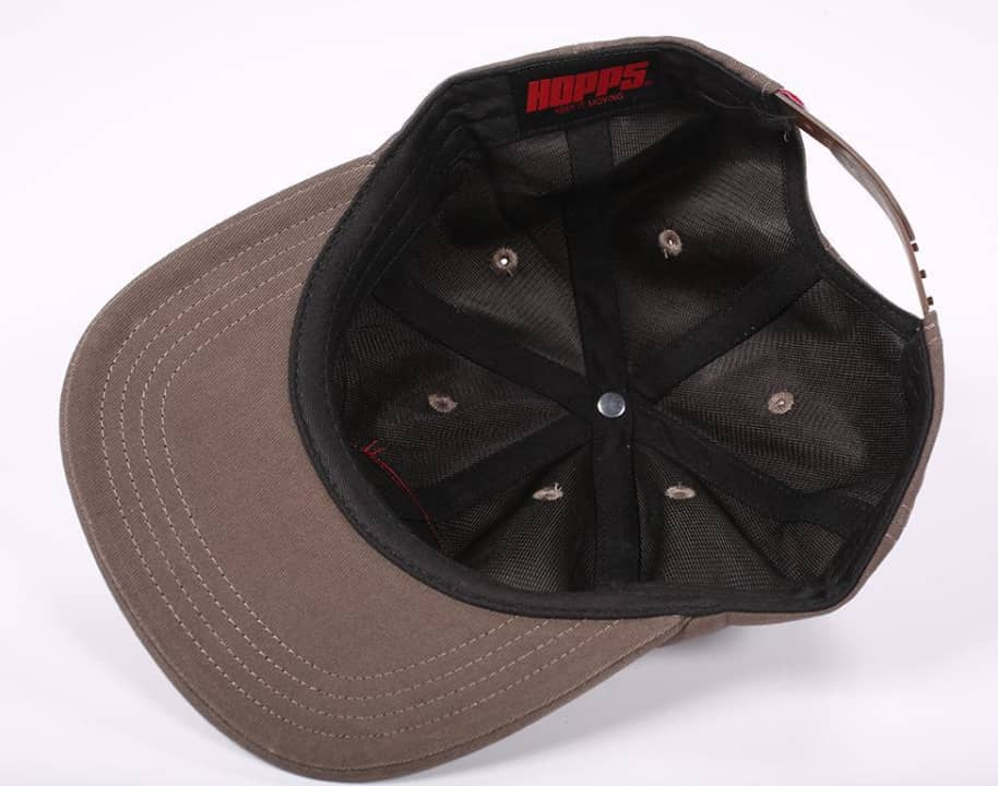 Hopps Patch Snapback Dark Grey | Baseball Cap by Hopps 5