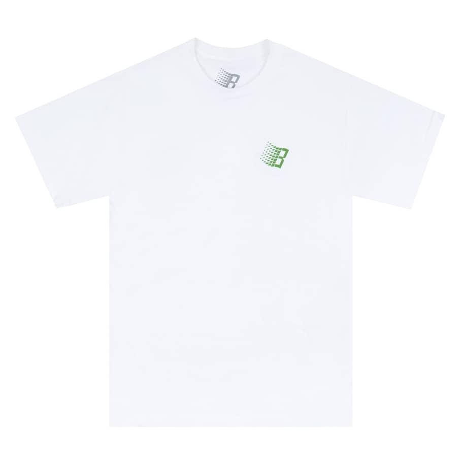 Bronze 56k VX B Logo T-Shirt - White | T-Shirt by Bronze 56k 2