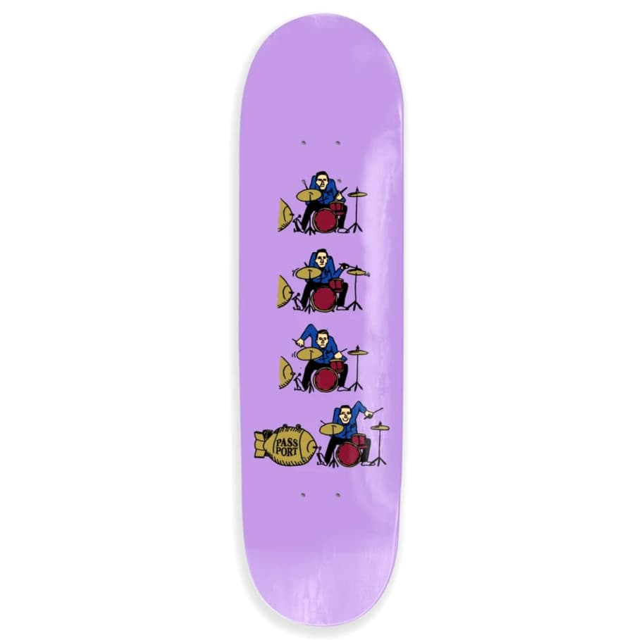 What U Thought Series (Drums) Deck | Deck by Pass~Port Skateboards 1