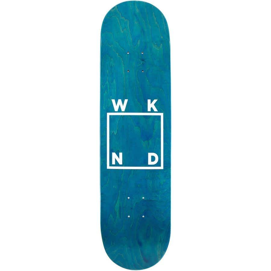 "WKND Logo Deck (Assorted Veneers) 8.25"" VA 
