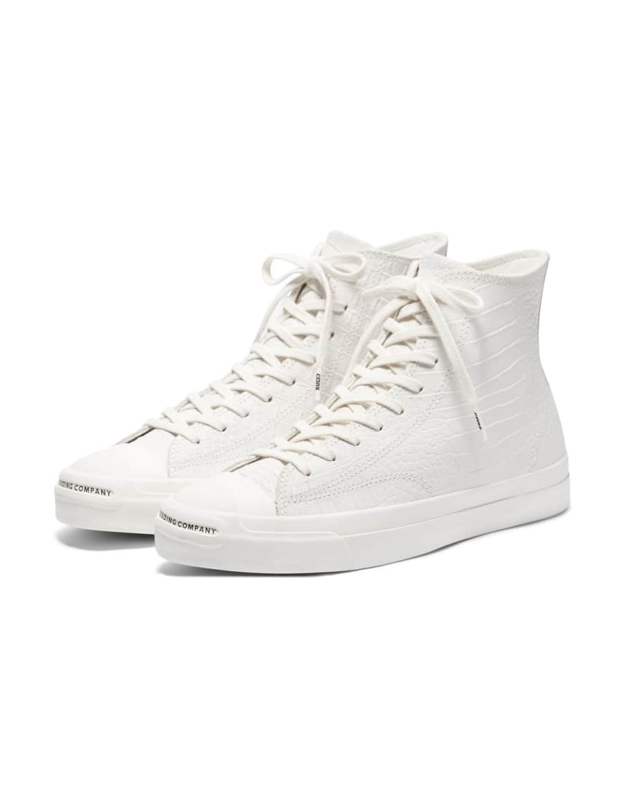Converse CONS x Pop Trading Company JP Pro Hi Shoes - White 'Dragonskin' | Shoes by Converse Cons 2