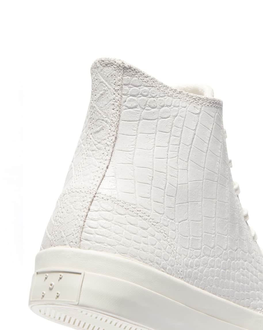 Converse CONS x Pop Trading Company JP Pro Hi Shoes - White 'Dragonskin' | Shoes by Converse Cons 6