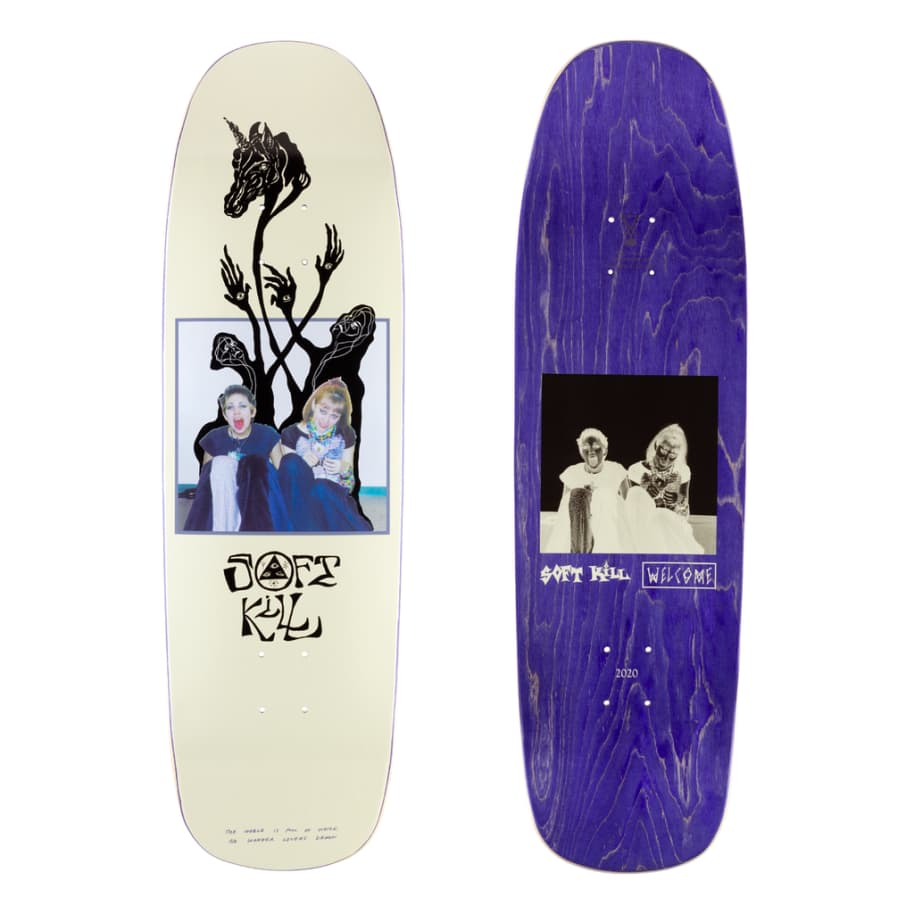 """Welcome Soft Kill on Golem Deck 9.25"""" 