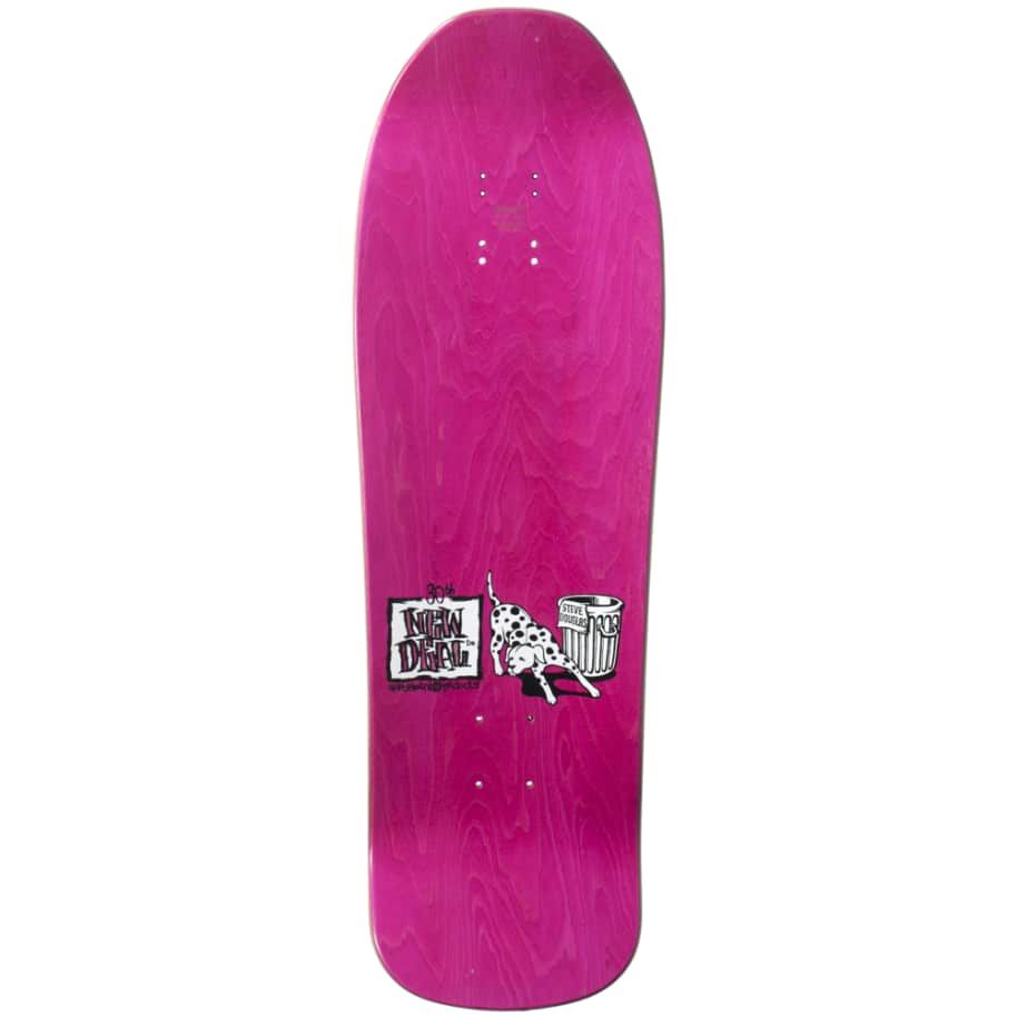 """New Deal Douglas Chums Reissue Screen Printed Deck 9.75"""" (Pink)   Deck by New Deal Skateboards 2"""