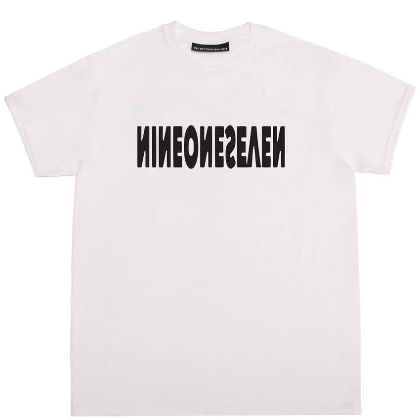 Call Me 917 Cyber Logotype T-Shirt - White   T-Shirt by Call Me 917 1