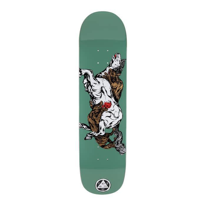 Welcome - Goodbye Horses On Bunyip Mid   Deck by Welcome Skateboards 1