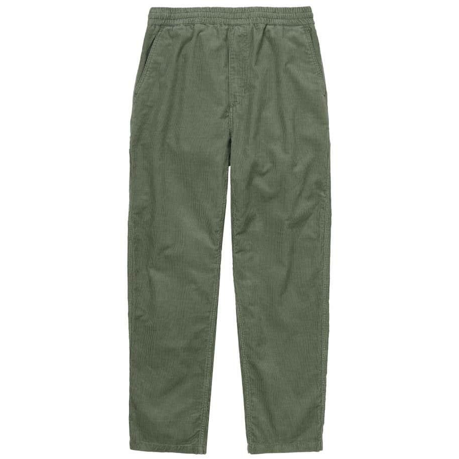Carhartt WIP Flint Pant - Dollar Green (Rinsed) | Trousers by Carhartt WIP 1