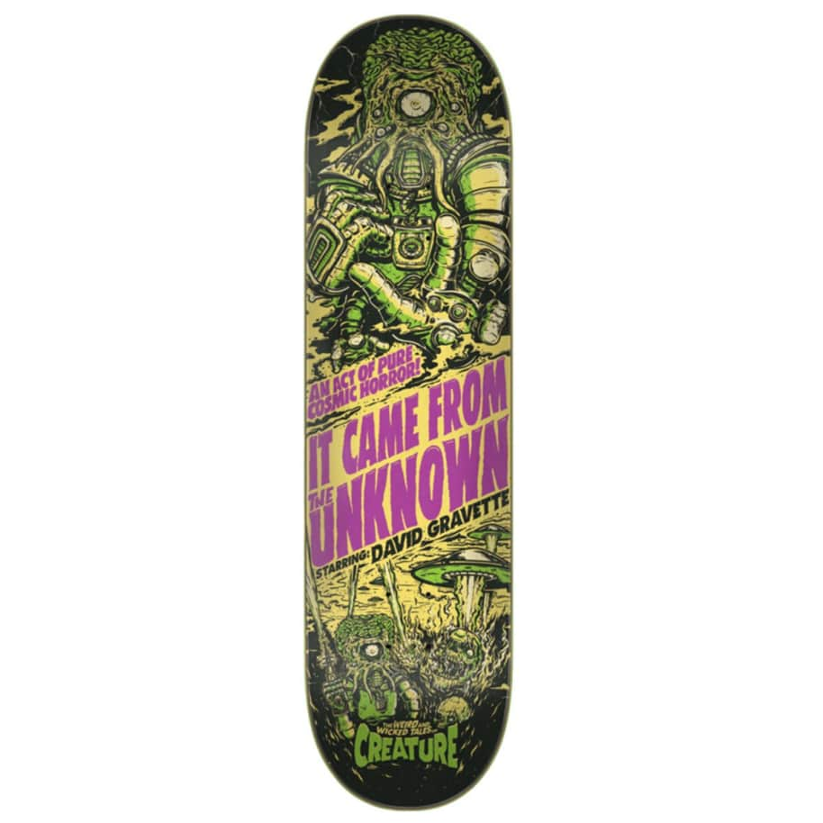 Creature Deck - David Gravette Wicked Tales 8.3"