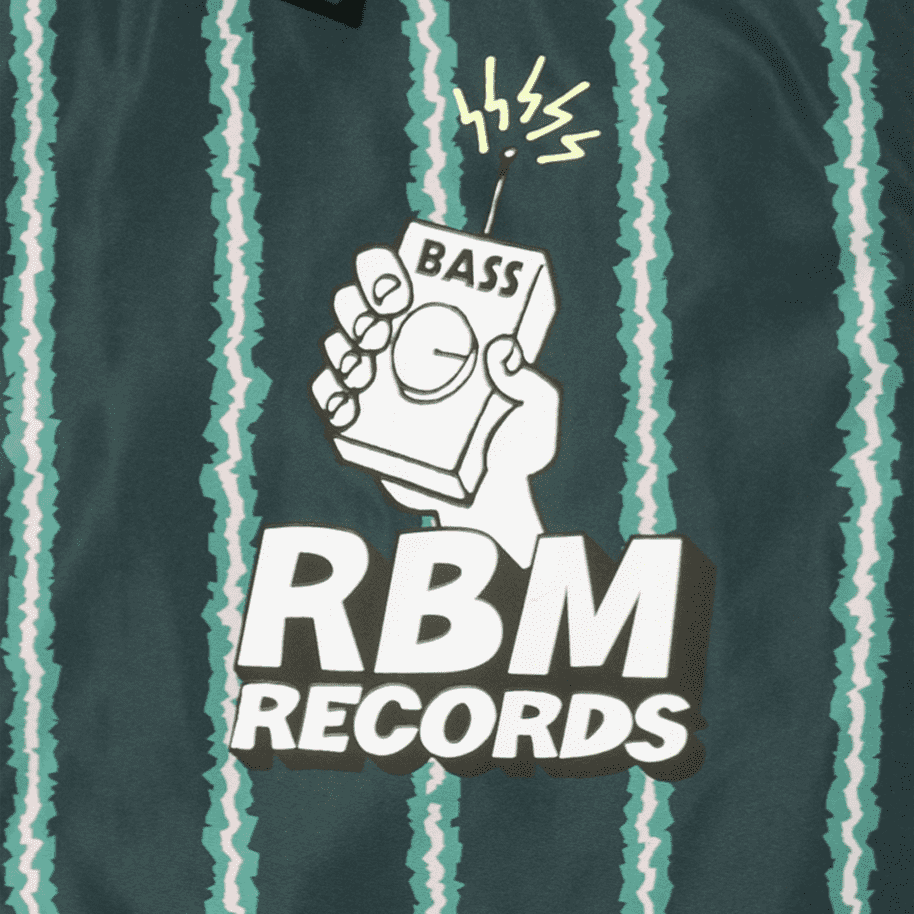 Real Bad Man RBM Records Coaches Jacket - Watermelon | Coach Jacket by Real Bad Man 3