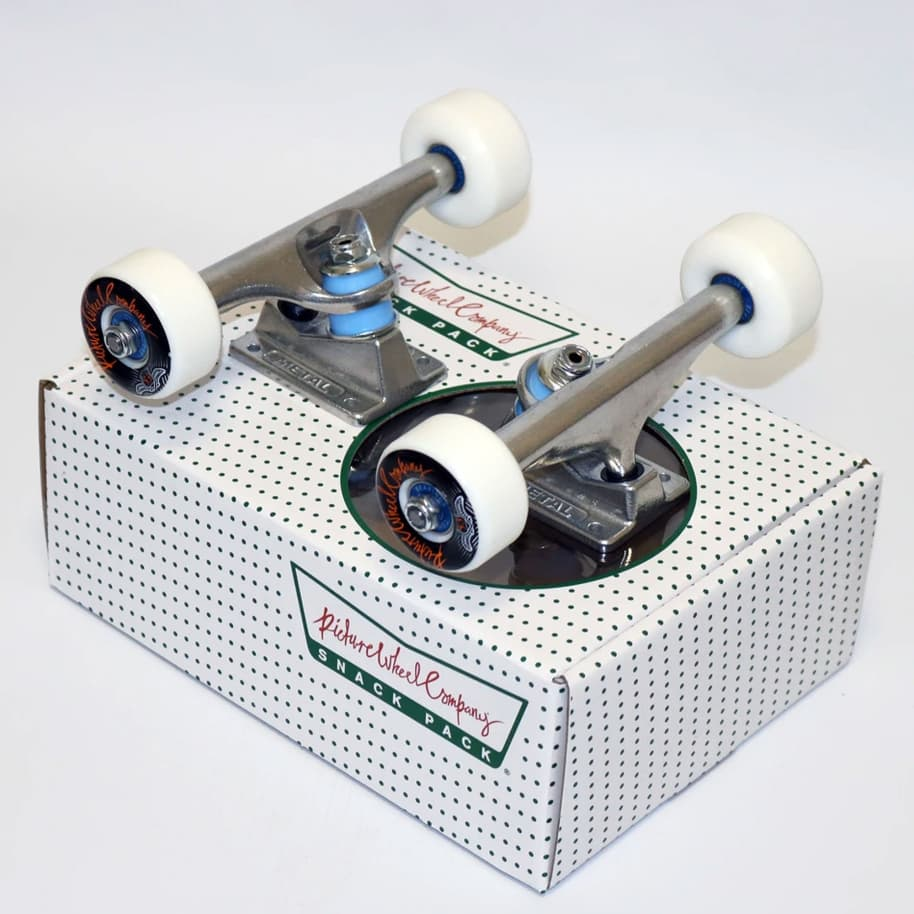 Picture Wheel Co Snack Pack   Trucks Wheels Bearings   5.25   Trucks by Picture Wheel Company 1