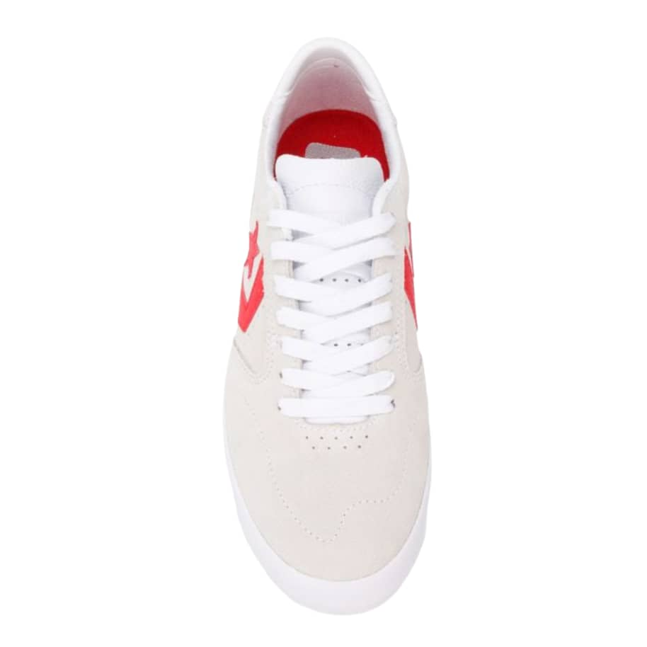 Converse CONS Checkpoint Pro Ox Shoes - White / Habanero Red | Shoes by Converse Cons 3