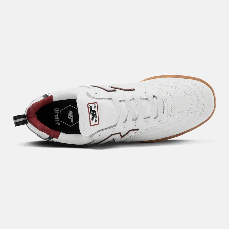 New Balance Numeric 288 Sport Skate Shoe - White / Red | Shoes by New Balance 2