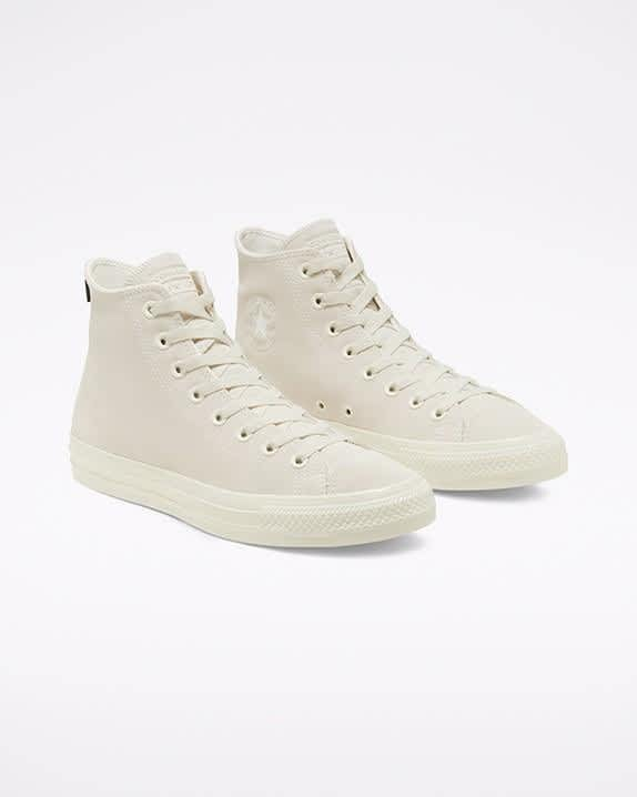 Converse CONS CTAS Pro High Top Shoes - Egret / Egret / Gum | Shoes by Converse Cons 2