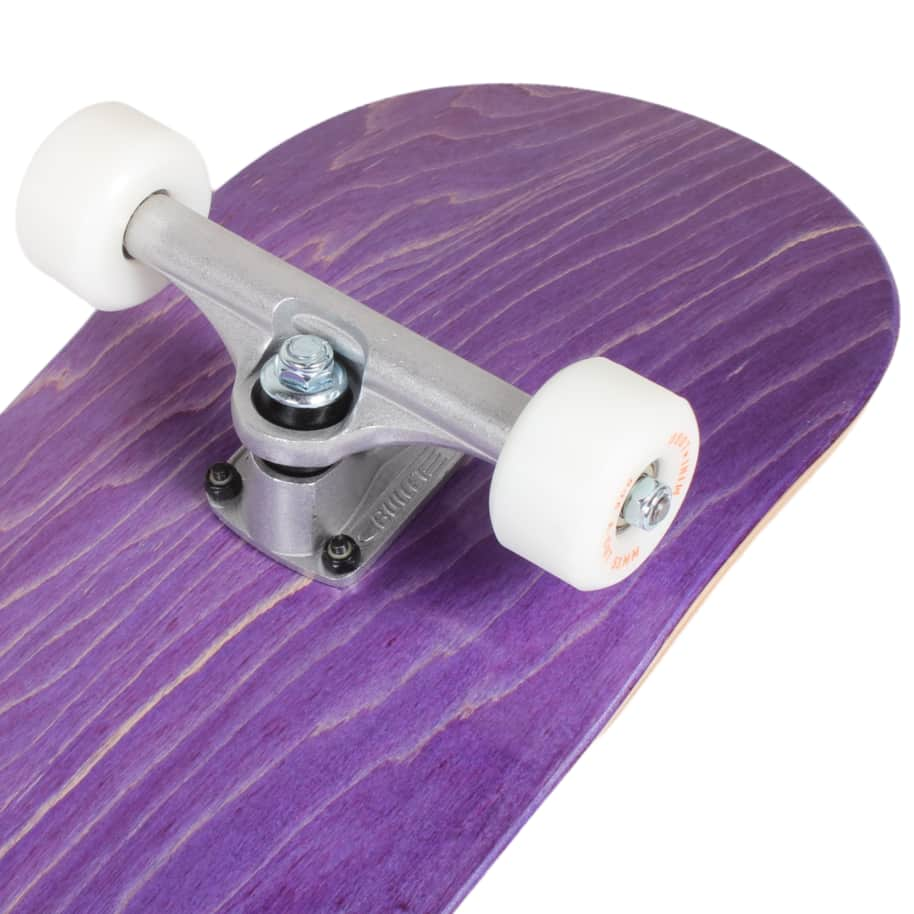Orchard Green Bird Logo Hybrid Complete 7.8 Purple (With Free Skate Tool) | Complete Skateboard by Orchard 4