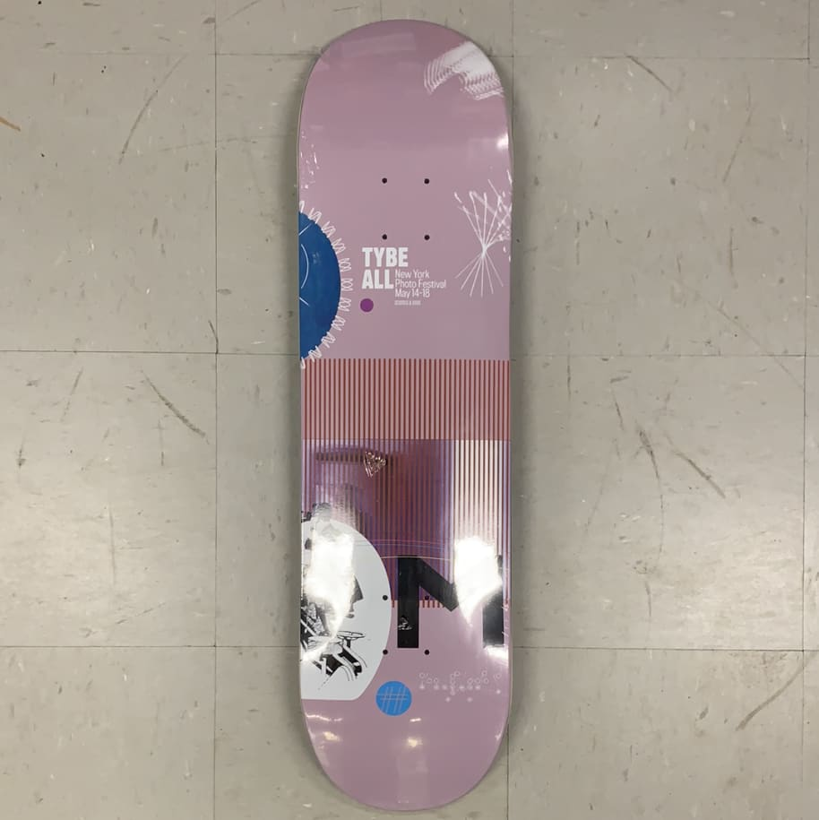 Scumco and Sons Skateboards Tybe All Broadcast Series M Deck 8.5 | Deck by Scumco Skateboards 1