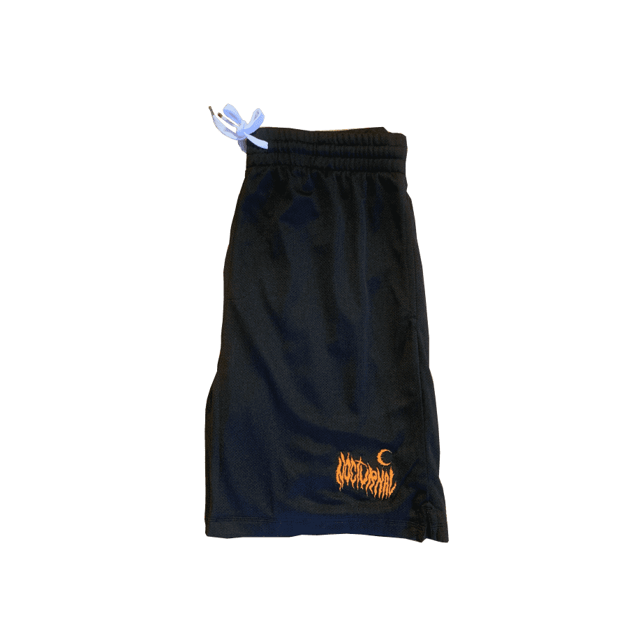 Nocturnal Metal Logo Shorts (Black) | Shorts by nocturnal 1