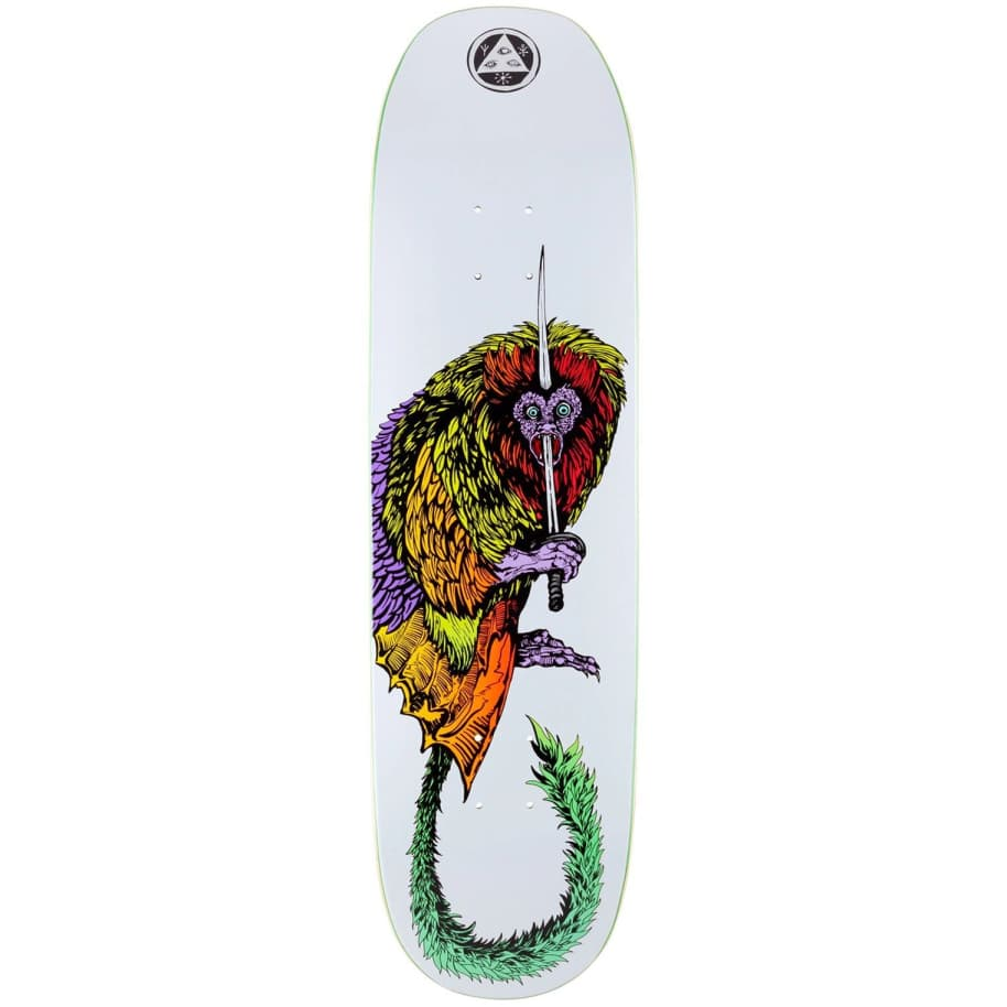 Welcome Tamarin on Moontrimmer 2.0 Deck   Deck by Welcome Skateboards 1