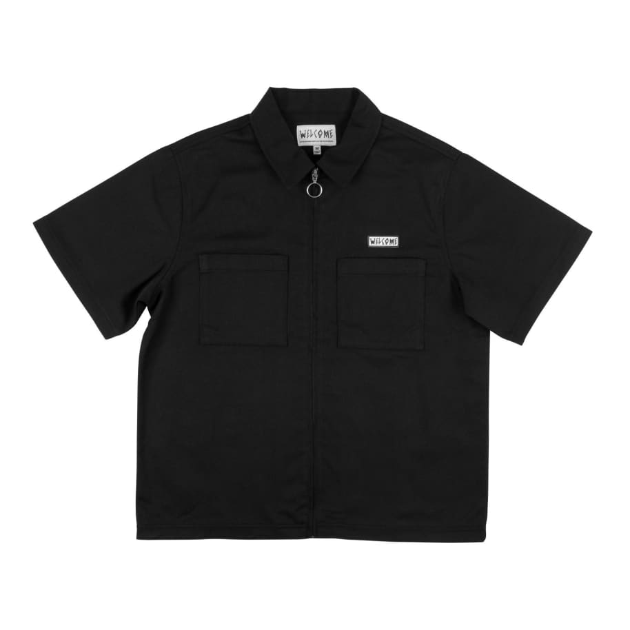 BAPHOLIT ZIP-UP WORKSHIRT | Polo Shirt by Welcome Skateboards 1
