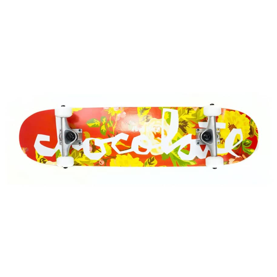 Chocolate - Perez Floral Chunk Complete 7.5 | Deck by Chocolate Skateboards 1