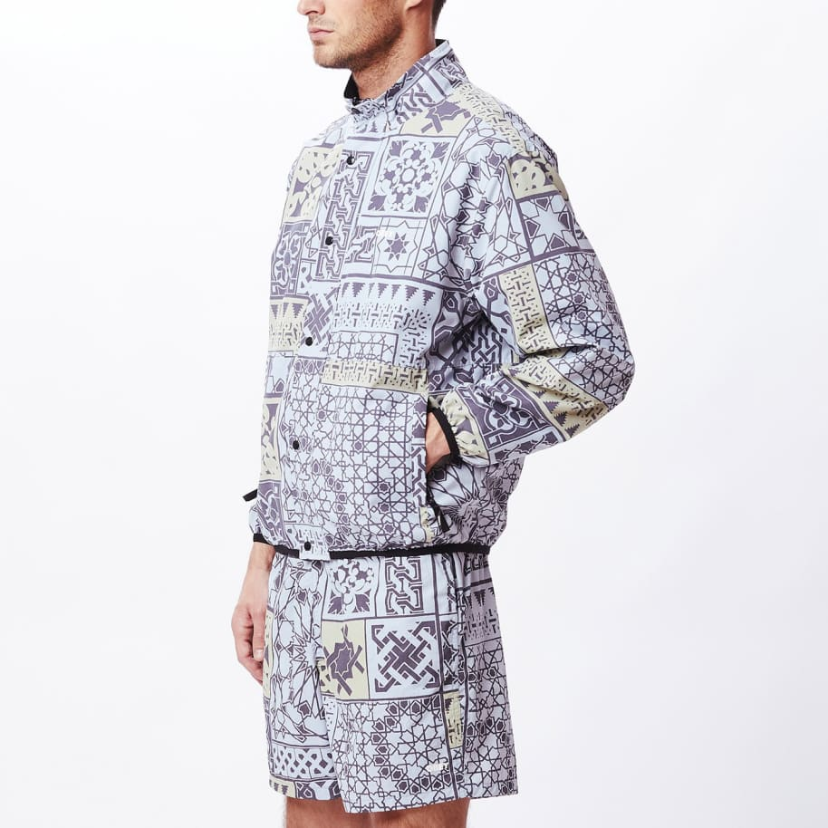 OBEY Patchwork Reversible Jacket - Black / Navy   Jacket by OBEY Clothing 3