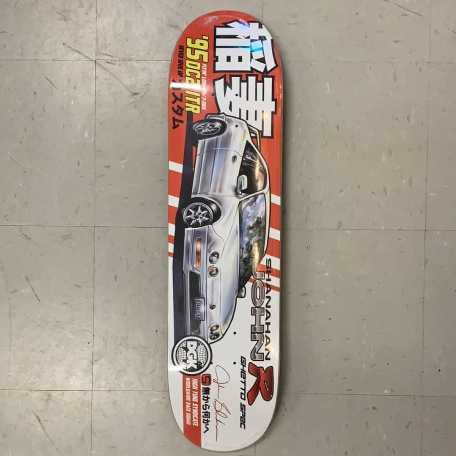 DGK Skateboards Tuner Series Shanahan Deck 8.06   Deck by DGK 1