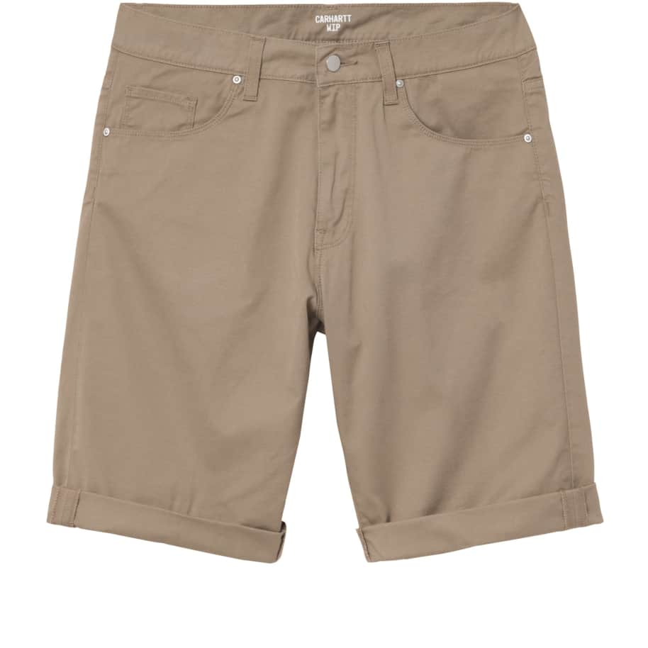 Carhartt WIP Swell Short - Leather (Rinsed) | Shorts by Carhartt WIP 1