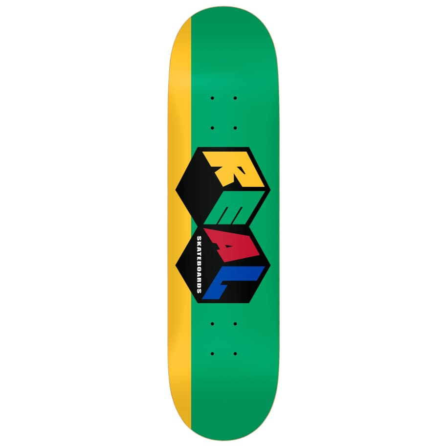 """Real   8.25"""" City Blocks   Deck by Real Skateboards 1"""