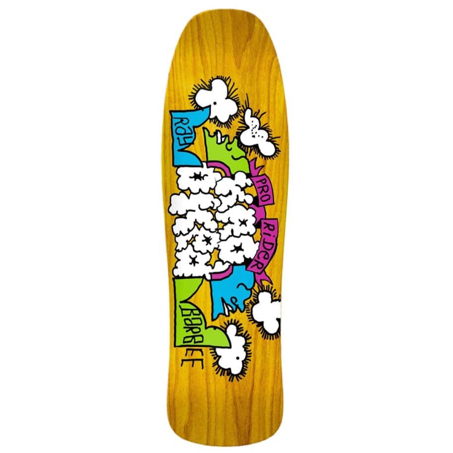 Krooked Deck - Ray Barbee Clouds Shaped   Deck by Krooked Skateboards 1