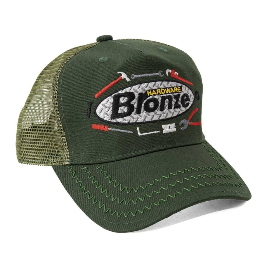 Bronze 56k Tool Time Trucker Hat - Olive | Trucker Cap by Bronze 56k 1