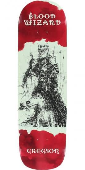 Blood Wizard Gregson Occult Knight Shaped Deck 8.6   Deck by Blood Wizard 1