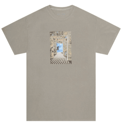 Fucking Awesome Dream Tunnel T-Shirt - Khaki   T-Shirt by Fucking Awesome 1