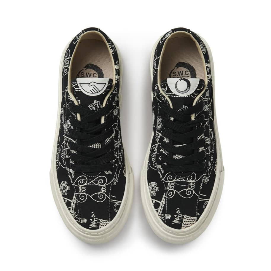 Stepney Workers Club x Endless Joy Dellow Womens Canvas Shoes - Gorgon | Shoes by Stepney Workers Club 3