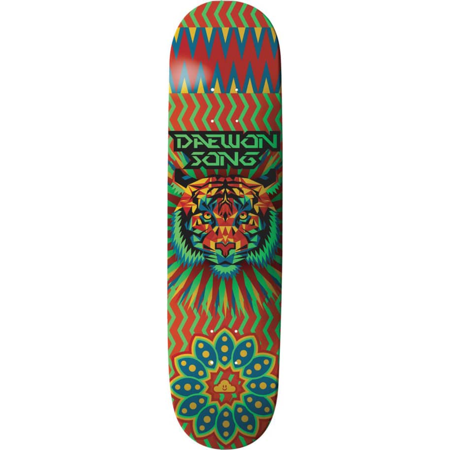 Daewon Song Geo Tiger Deck 7.75   Deck by Thank You Skate Co 1