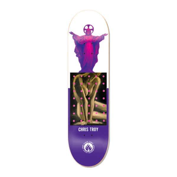 Black Label Skateboards Chris Troy Juxtapose Skateboard Deck - 8.5 | Deck by Black Label 1