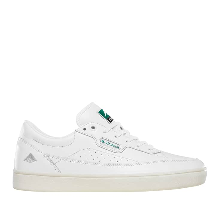 Emerica Gamma Skate Shoes - White | Shoes by Emerica 1