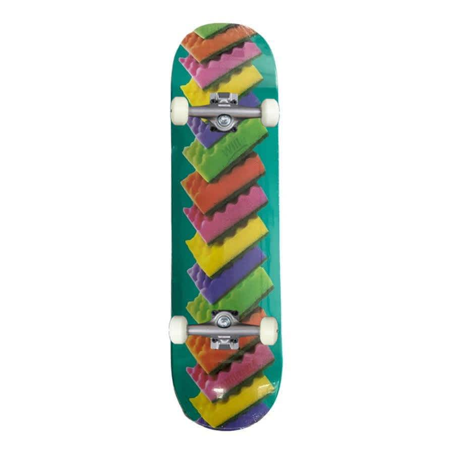 """Alltimers 'Clean Up' Will Marshall Complete Skateboard 8.25""""   Complete Skateboard by Alltimers 1"""
